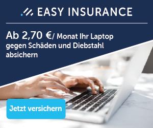 Laptop Versicherung